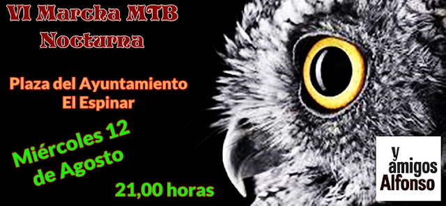 MTB Nocturnas - AlfonsoyAmigos