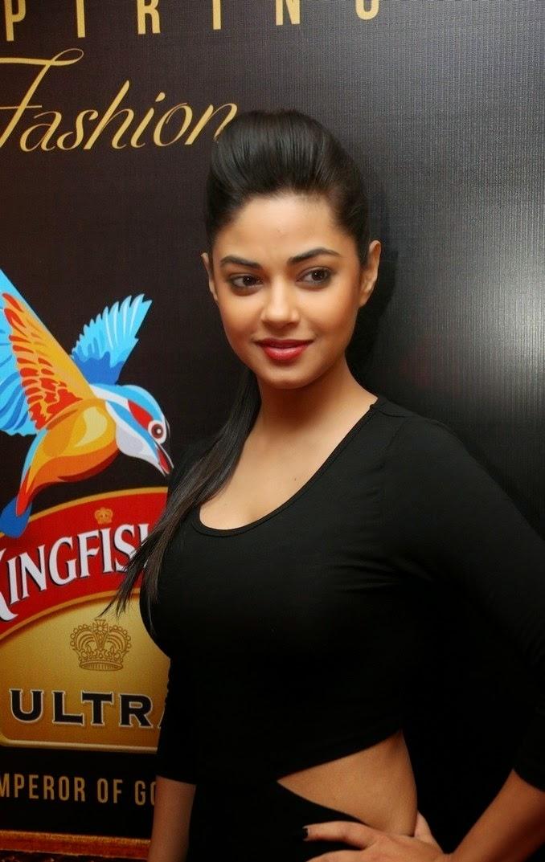 Meera Chopra In Spicy Black Suit Latest Photoshoot Stills