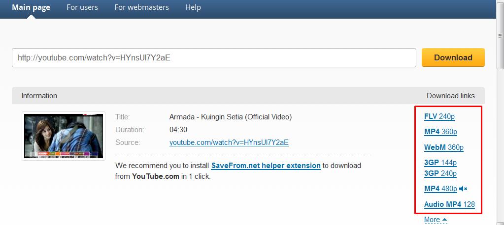 download video youtube dengan cepat dan simpel dengan tips dari newbikecil