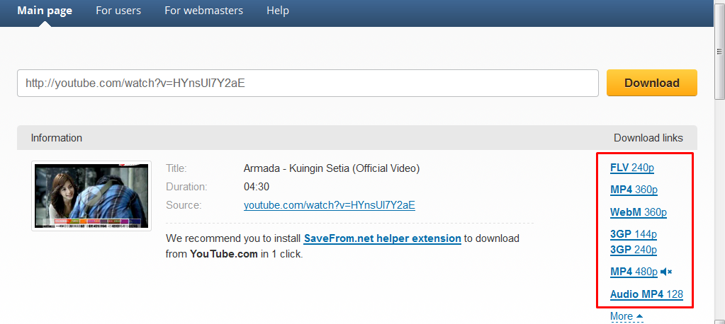 cara download youtube di laptop tanpa idm