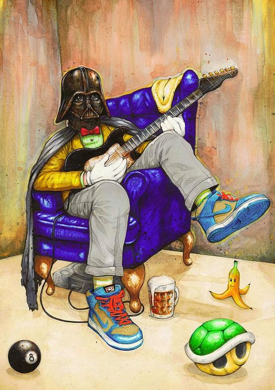 02-Star-Wars-Luke-Tobias-Surreal-Drawings-from-Popular-Culture-www-designstack-co