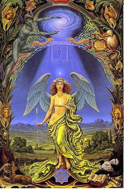Signo de Virgo, Zodiaco Johfra Bosschart