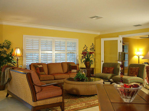 Modern Furniture: Tropical living Room Decorating Ideas 2012 from HGTV