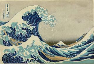 'La gran ola de Kanagawa' - Katsushika Hokusai