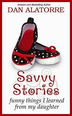 savvy stories, dan alatorre, parenting book, parenting humor, fatherhood book