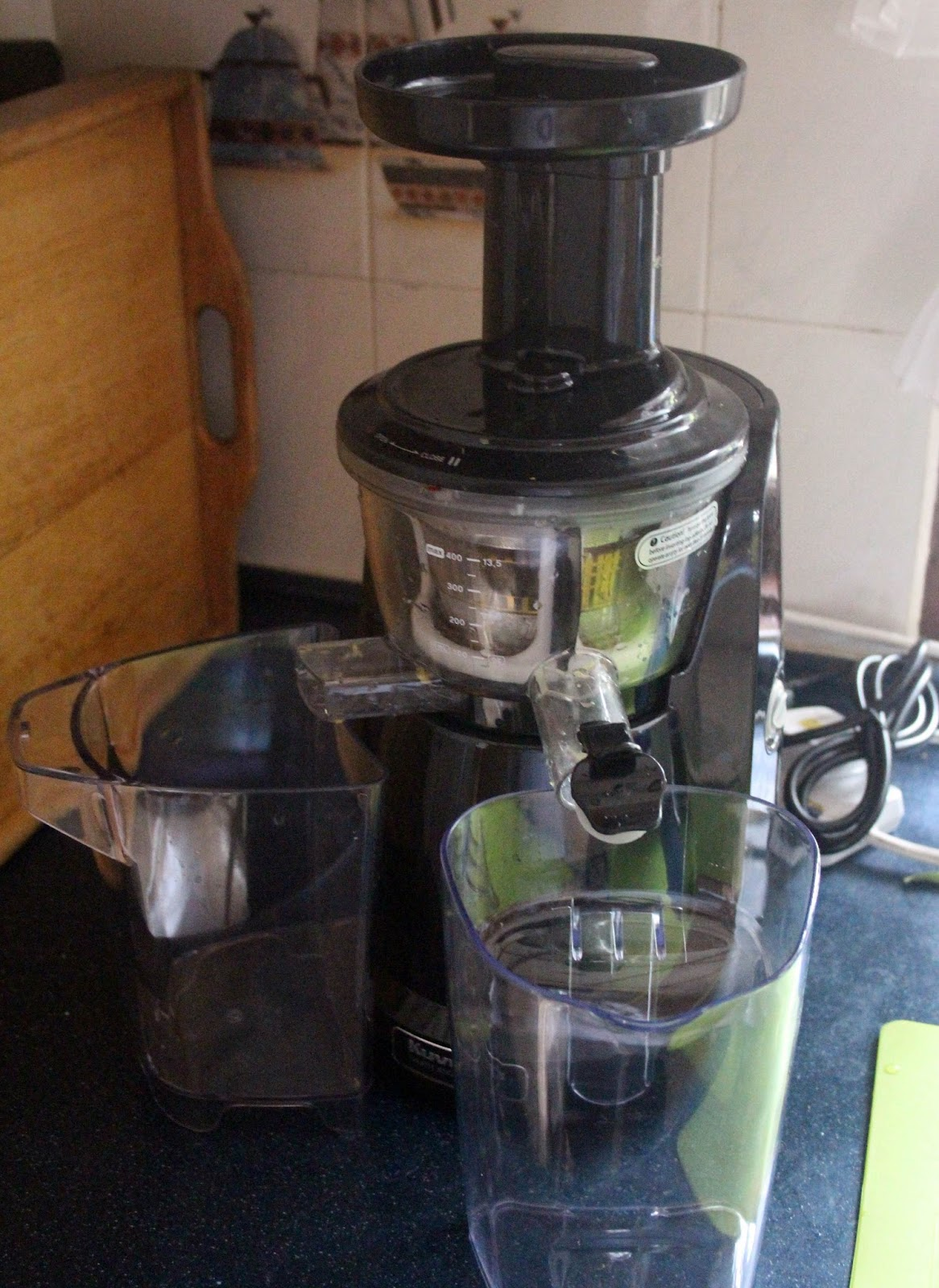 Kuvings Masticating Juicer Parts : Have Your Cake and Eat It Too: The Kuvings Silent Masticating Juicer