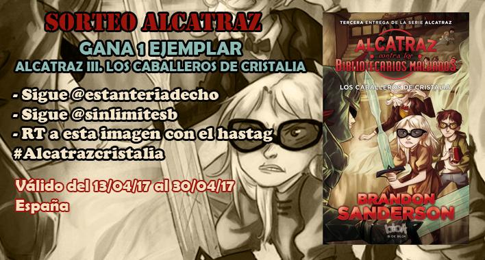 Sorteo #AlcatrazCristalia