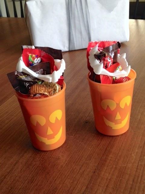 Halloween gift wrap