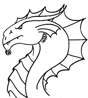 zoo coloring pages, dragon coloring pages
