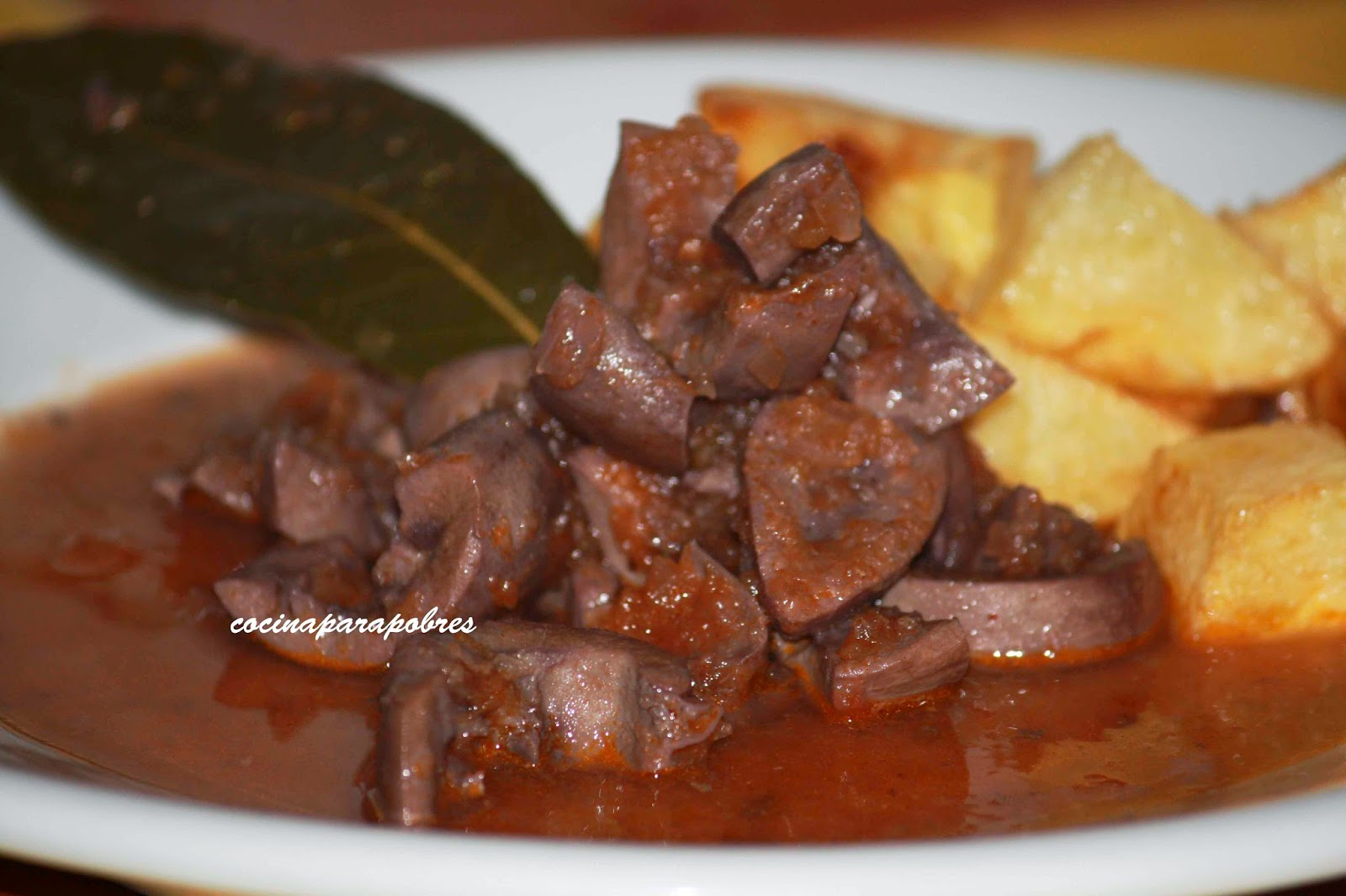 cocina para pobres ri ones en salsa On cocinar rinones de cerdo