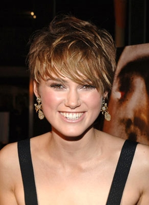 Haircut For Round Face : short hairstyles for round faces short hairstyles for round faces ...