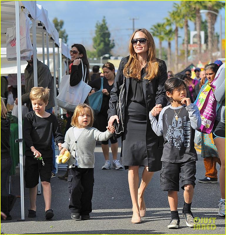 Miniature Celebrity Shiloh And Knox Leon Jolie Pitt