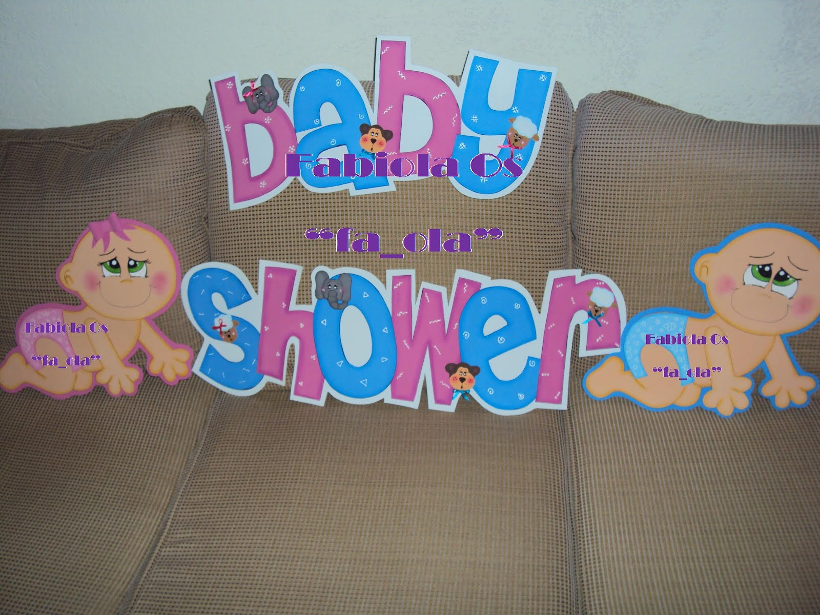 Letreros De Baby Shower
