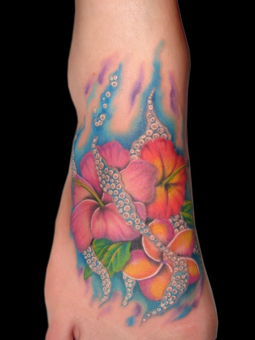 All About Fashion Collection: Flower Tattoos