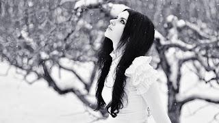 Iris en la nieve