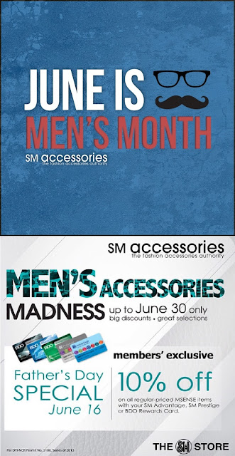 SM Accessories Sale - June 2013