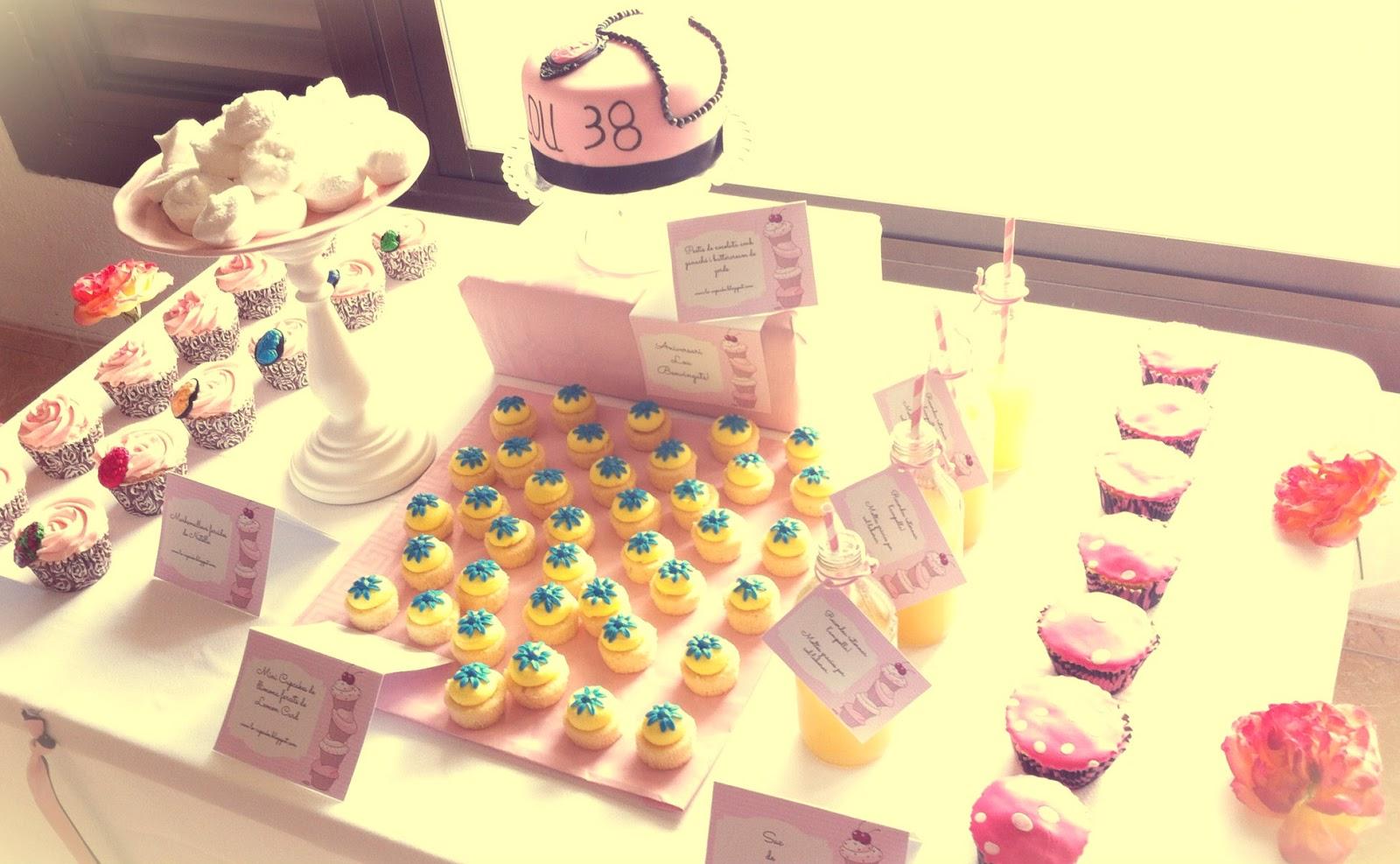 Fiestas de cumplea os y mesas de cupcakes lo cupcake - Como preparar una fiesta de cumpleanos sorpresa ...
