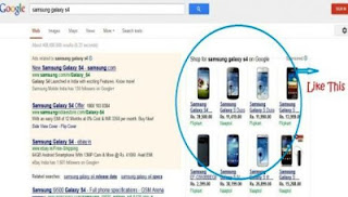 Google announced the launch of a new format of showing 'Product listing Ads' in India.