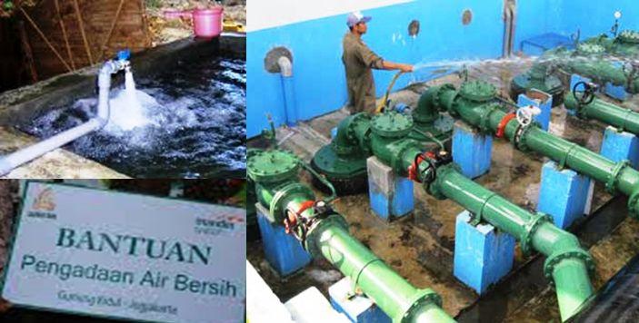 Program air bersih pemerintah