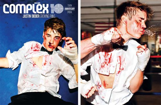Justin Bieber K.O Boxe Complex Magazine