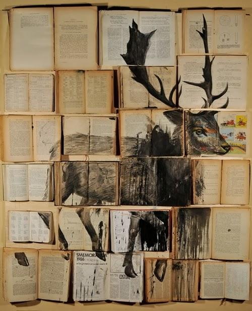 06-Russian-Artist-Ekaterina-Panikanova-Book-Page-Drawings-www-designstack-co
