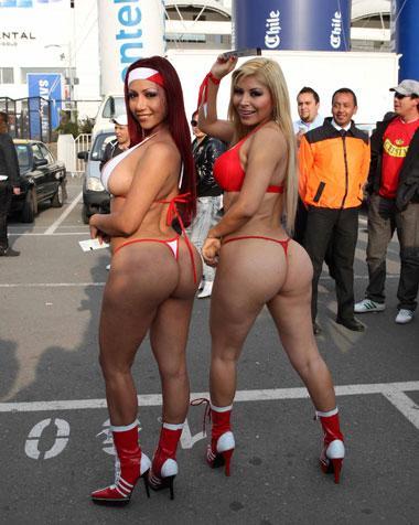 Daysi Araujo y Mirella Mendez Fotos en Chile