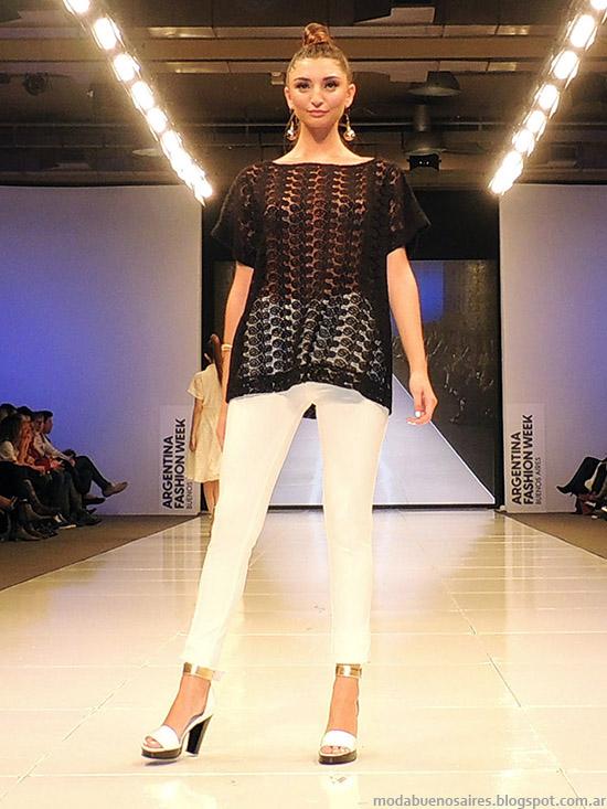 Adriana Costantini primavera verano 2015. Moda sweaters primavera verano 2015.