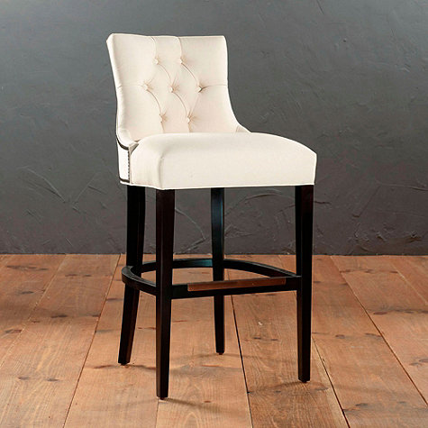 BALLARD DESIGNS GENTRY BARSTOOL (IN LINEN)