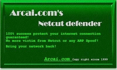 Software Melindungi Internet/Wifi: Netcut Defender Version 2.1.4 Full Terbaru Gratis