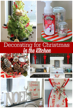 Christmas Decor in the Kitchen