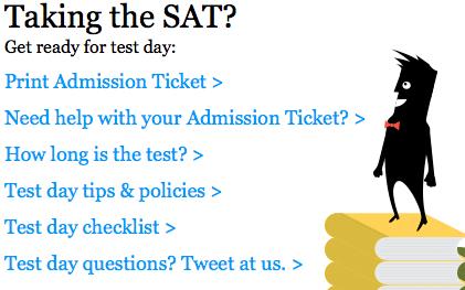 Take the SAT