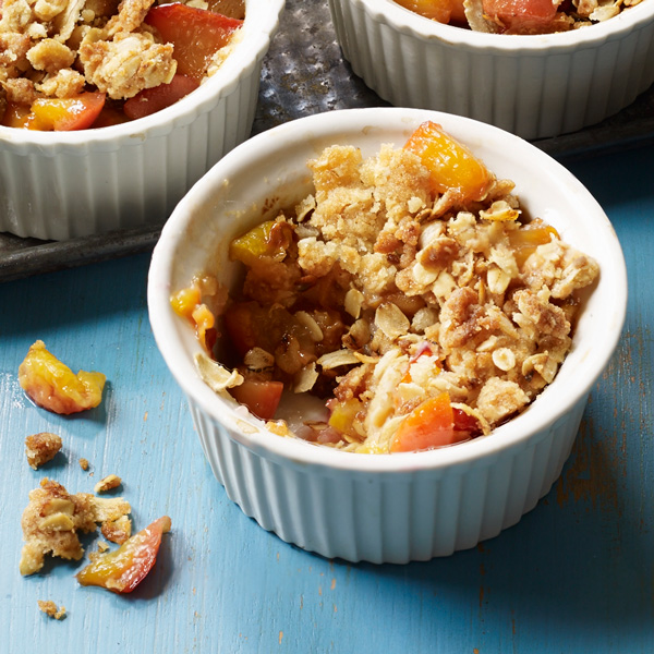 Corners of My Life: nectarine crumbles