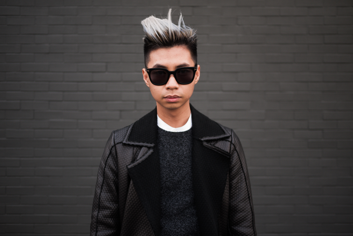 Hair Bleach For Men : ... ASIAN PLATINUM BLONDE HAIR by Tommy Lei Details Style Syndicate