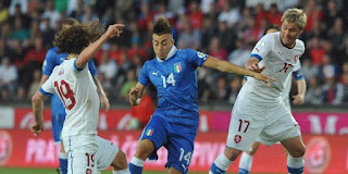 Rep Ceko vs Italia