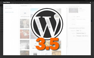 WordPress 3.5 is now available for download