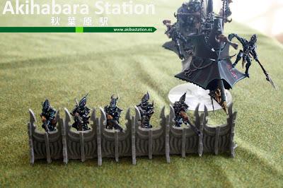 Barricadas para Eldars Oscuros [Terrains4Games].