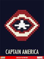 superheros lego captain america