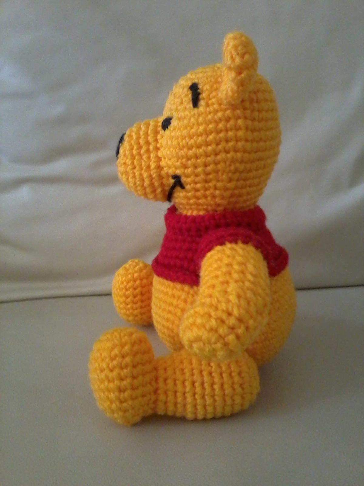 Único Winnie Pooh Los Patrones De Ganchillo Ideas - Manta de Tejer ...