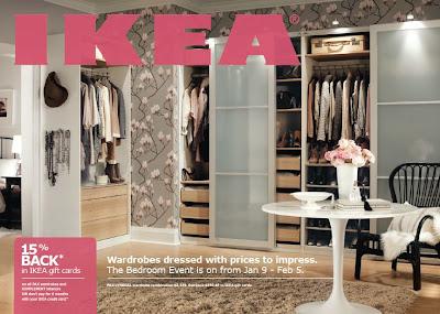 Cherish toronto flowers in the dressing room - Dressing ikea komplement ...