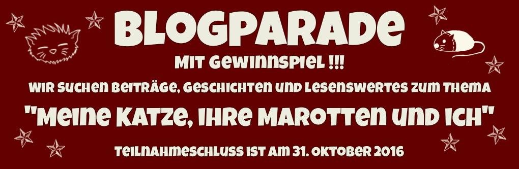 """Blogparade """"Meine Katze, ihre Marotten und ich"""""""
