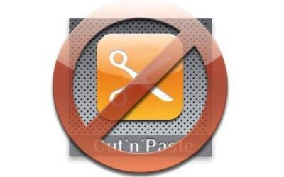 mencegah copy paste konten blog