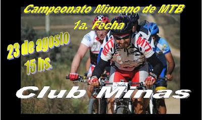MTB Club Minas (Lavalleja, 23/ago/2014)