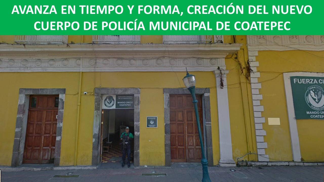 NUEVO CUERPO DE POLICÍA MUNICIPAL DE COATEPEC