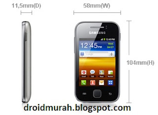 SGY S5360 HP Android layar 3 inch harga dibawah 1 juta