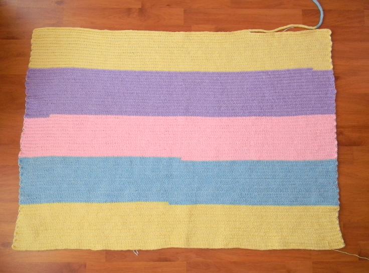 French Knitting Rug : January empty my pockets club nintendo pikmin totebag