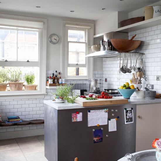 Decora y disena fotos de cocinas para espacios peque os for Cocinas para espacios pequenos