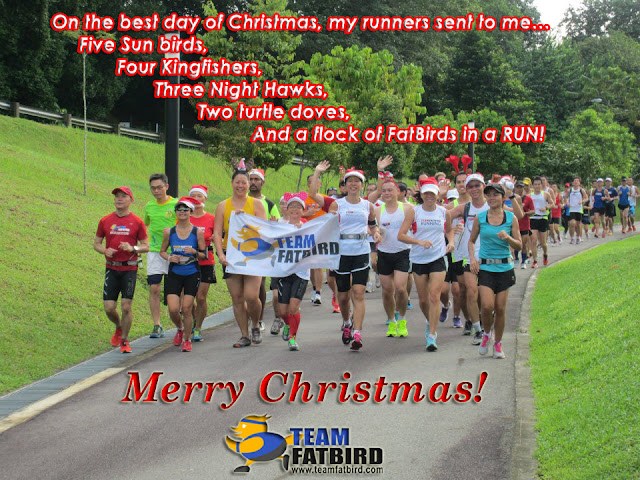 Merry Christmas & Happy Running