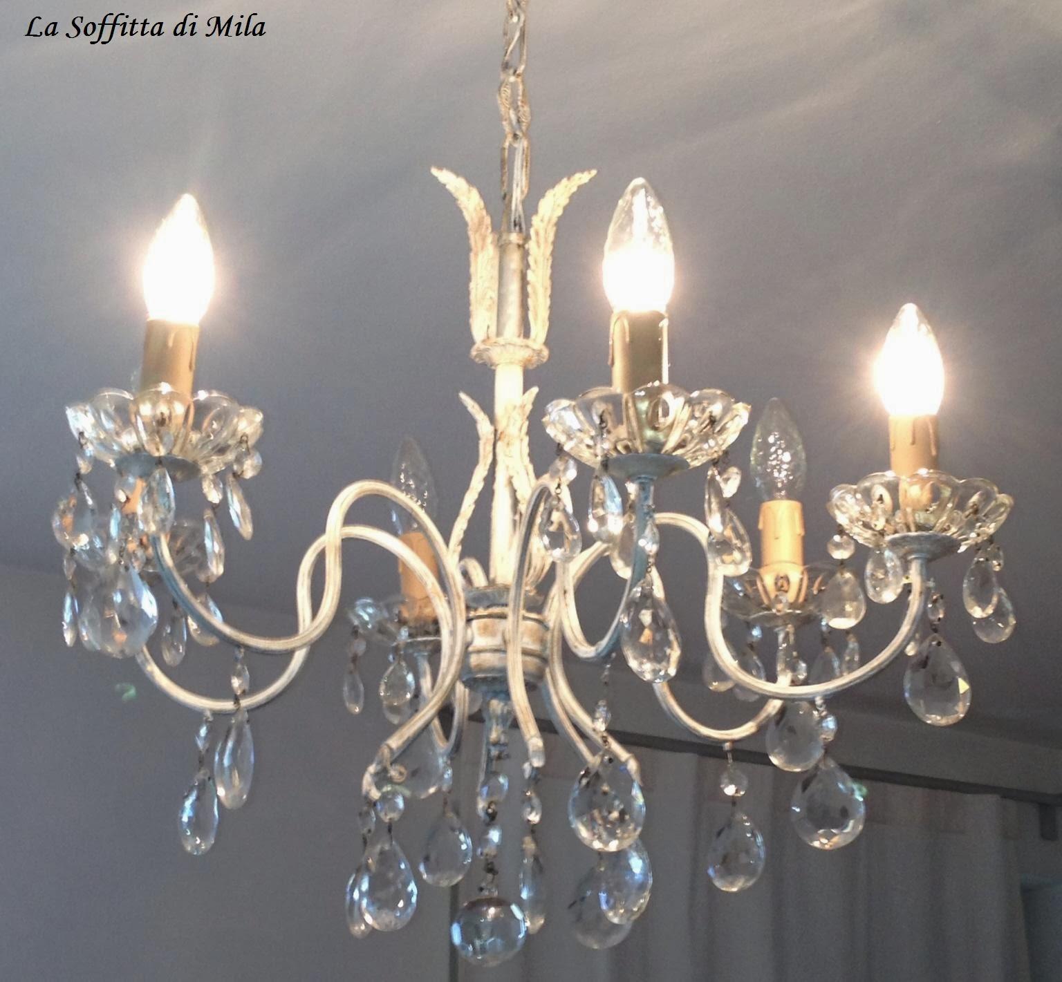 LA SOFFITTA di Mila: Il lampadario della zia