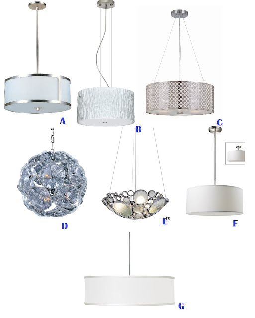 varaluz, lighting, craft room, craft, DIY, makeover, lights, ET2, Eurofase, silver, shiny, pendant, fixture