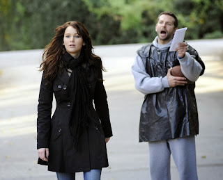 Jennifer Lawrence as Tiffany and Bradley Cooper as Pat in Silver Linings Playbook, Directed by David O. Russell